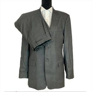 VERSACE Collection Modern Gray Mens Suit Blazer 42
